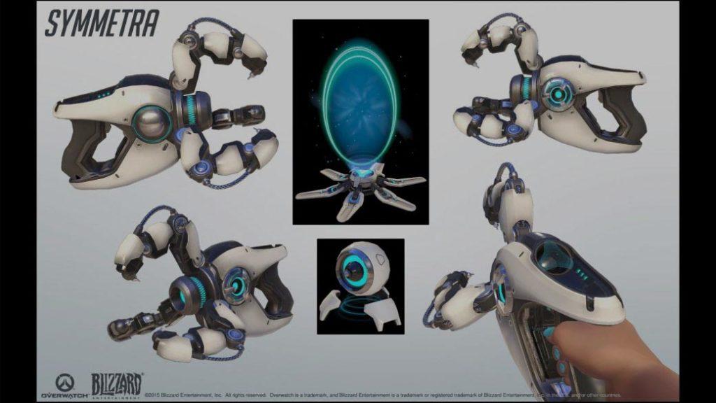 Symmetra's teleport