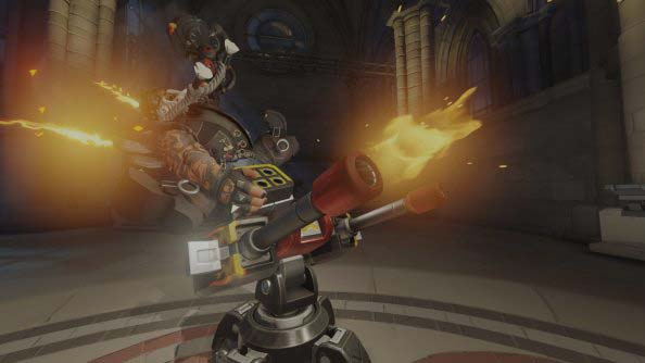 Torbjorn on Turret