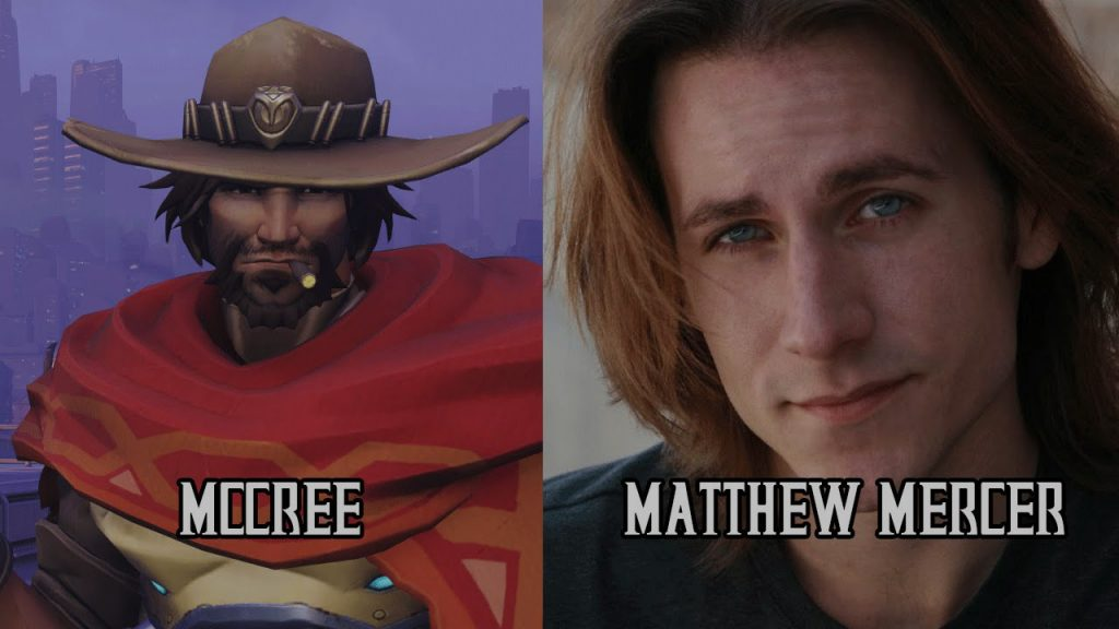Mccree's voice actor