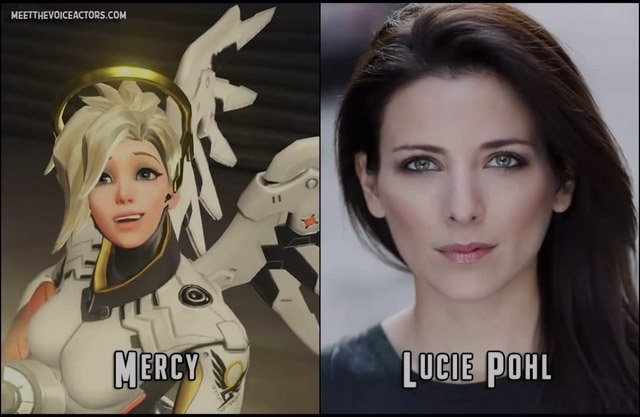 Mercy's voice actor