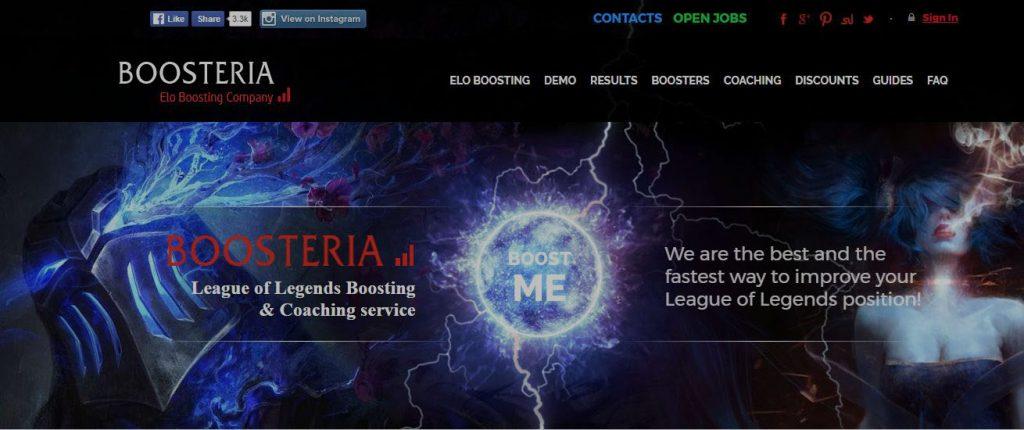 Boosteria - boosting service