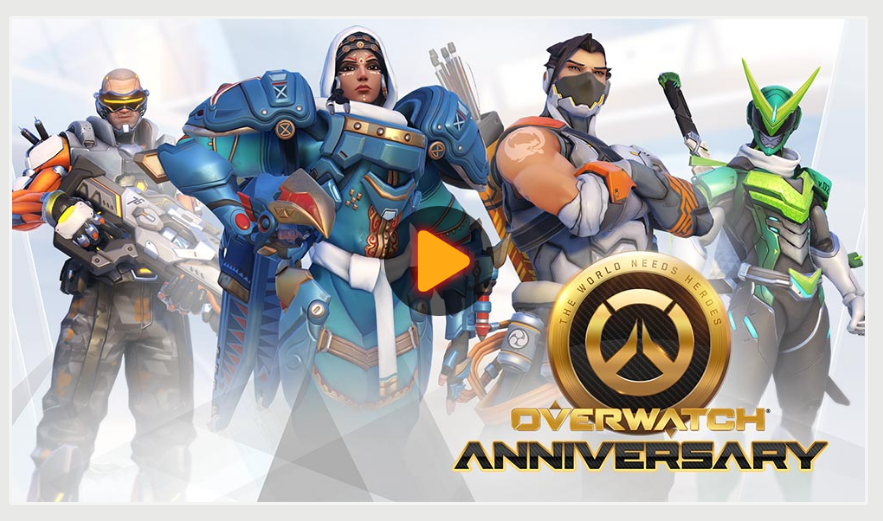 Overwatch first anniversary